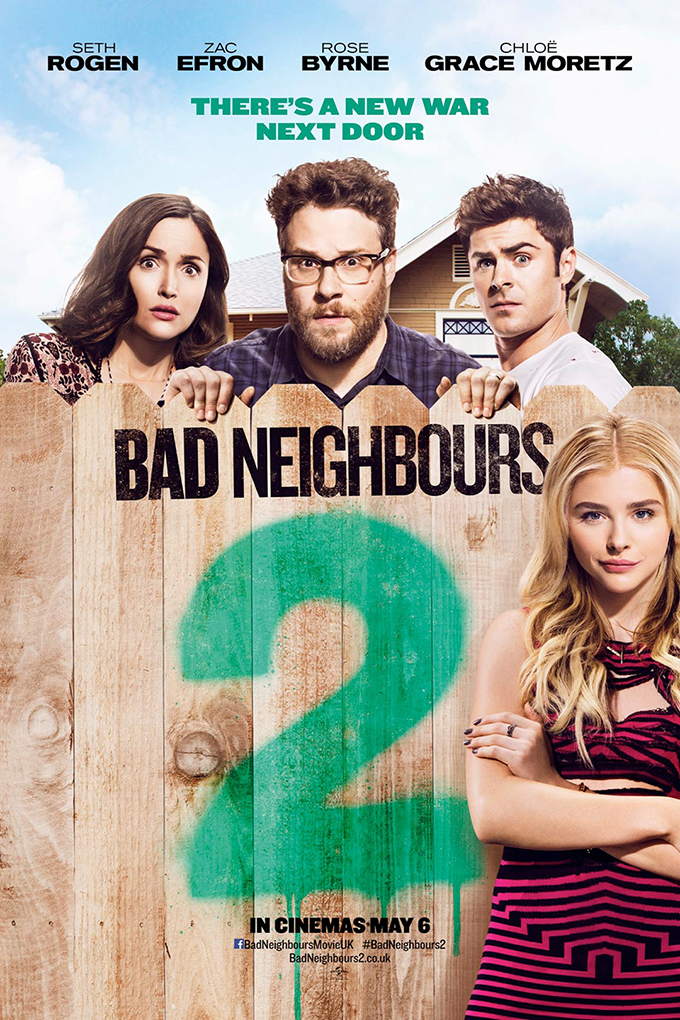 Bad Neighbors 2: Sorority Rising [2016 USA Movie] Comedy
