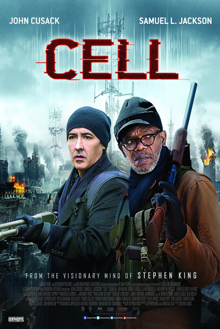 Cell [2016 USA Movie] Horror, Thriller, Sci Fi