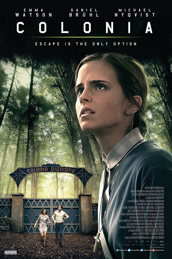Colonia [2016 Germany, Luxembourg, France Movie] Drama, History, Romance, Thriller, True Story
