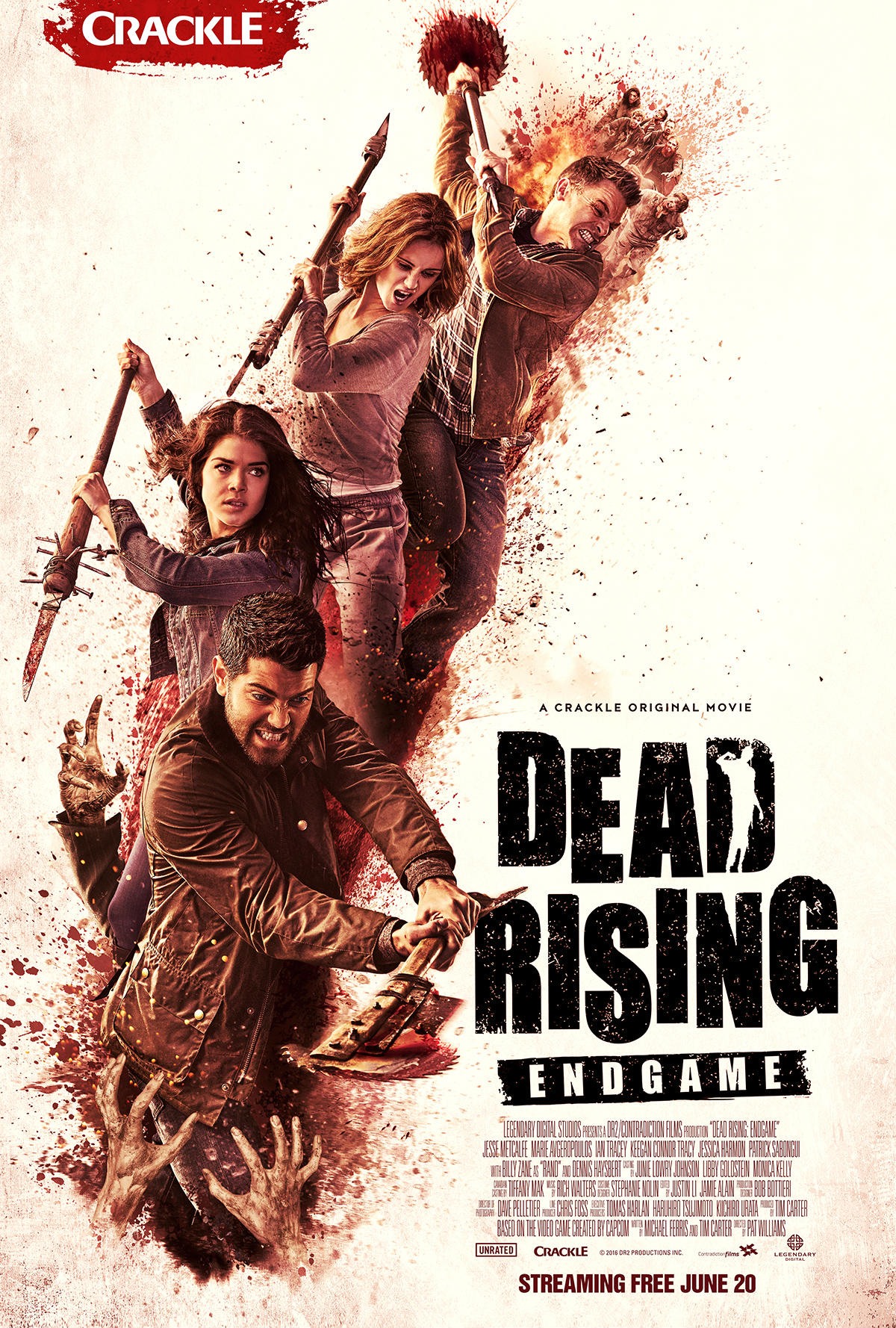 Dead Rising Endgame [2016 USA Movie] Action, Thriller, Horror