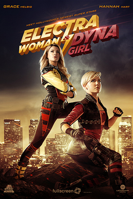Electra Woman and Dyna Girl [2016 USA Movie] Comedy