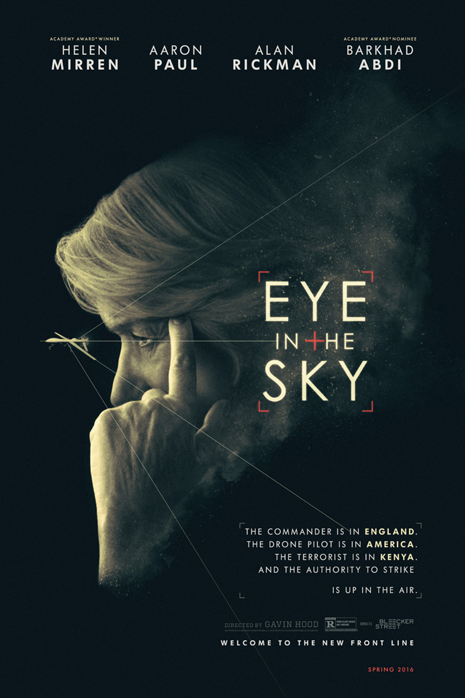 Eye in the Sky [2016 UK & South Africa Movie] Drama, Thriller, War