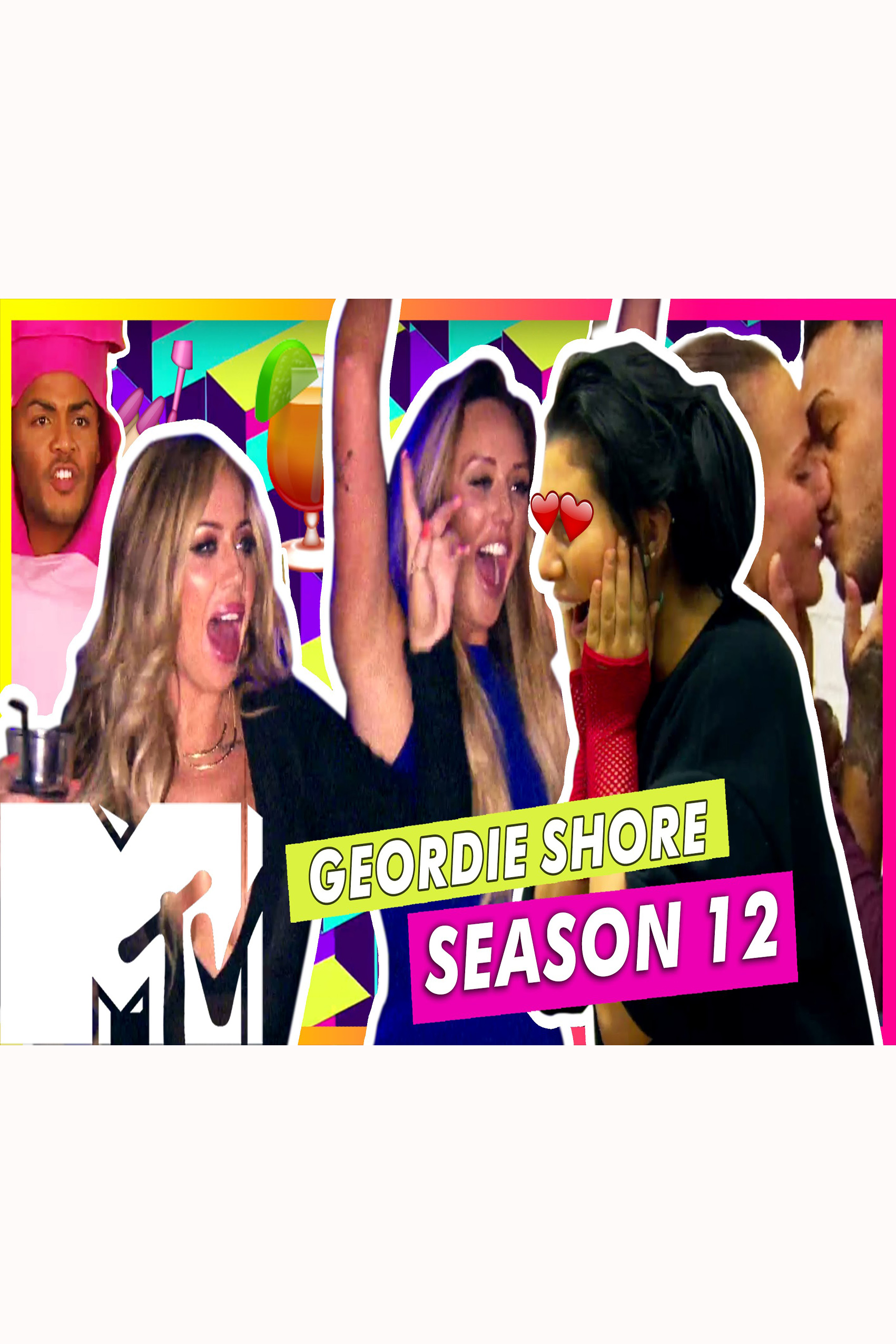 Geordie Shore SEASON 12 Complete  [2016 USA Series]  Comedy, Reality TV