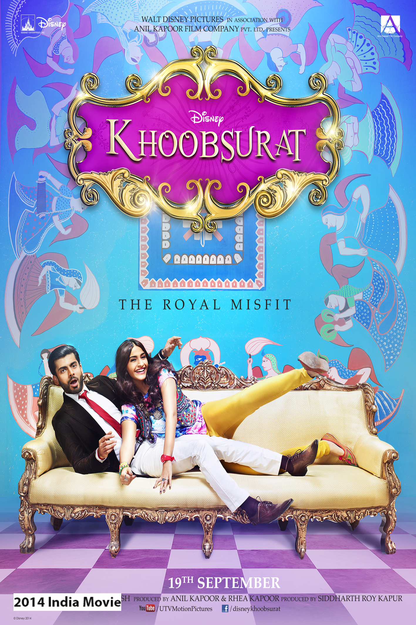 Khoobsurat [2014 India Movie] Hindi Comedy, Romance