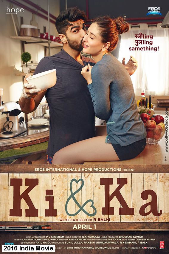 Ki and Ka [2016 India Movie] Hindi, Comedy, Romance