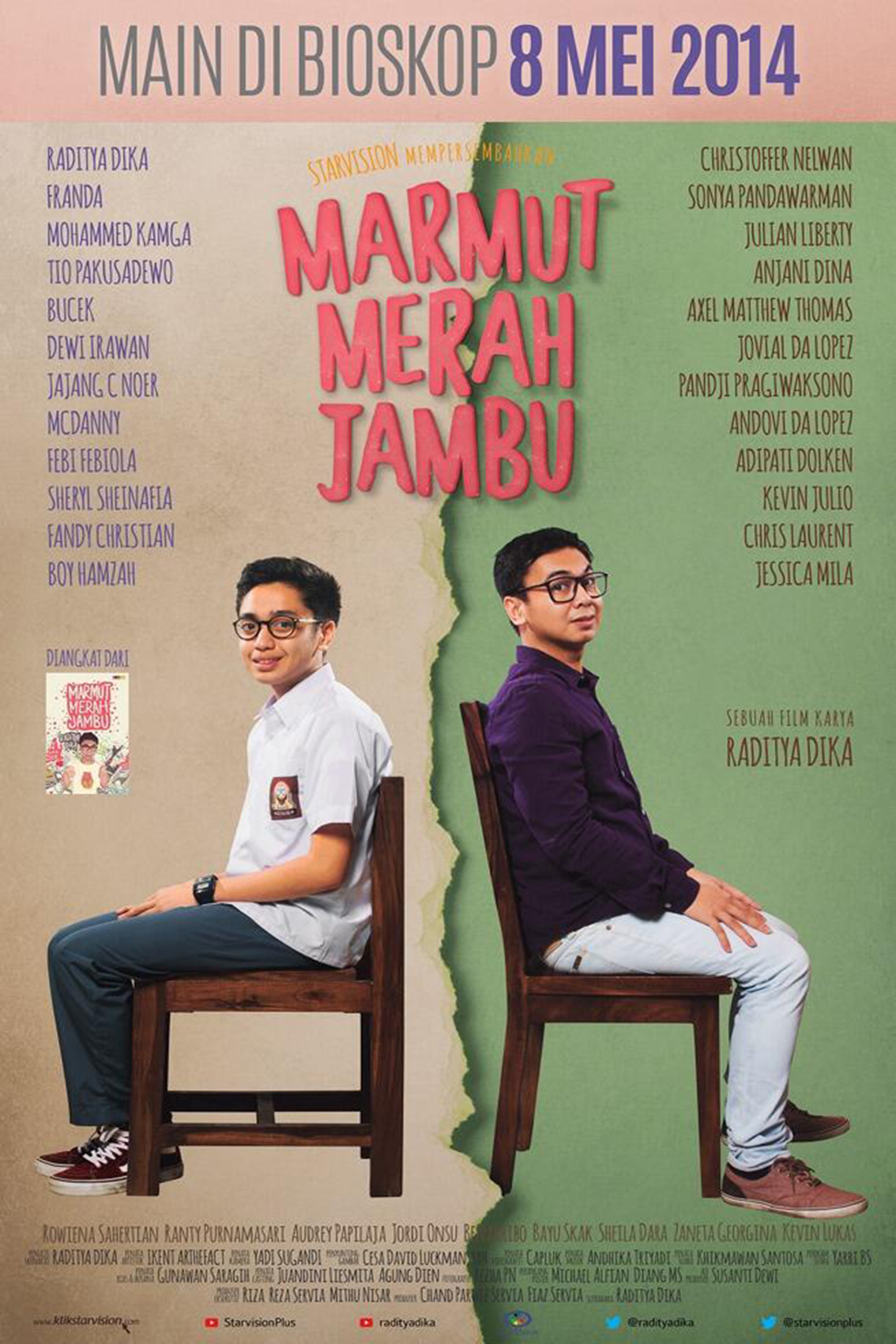 Marmut Merah Jambu [2014 Indonesia Movie] Drama