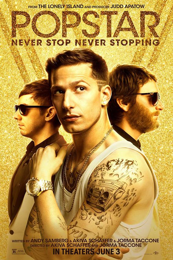 Popstar Never Stop Never Stopping [2016 USA Movie] Comedy, Musical