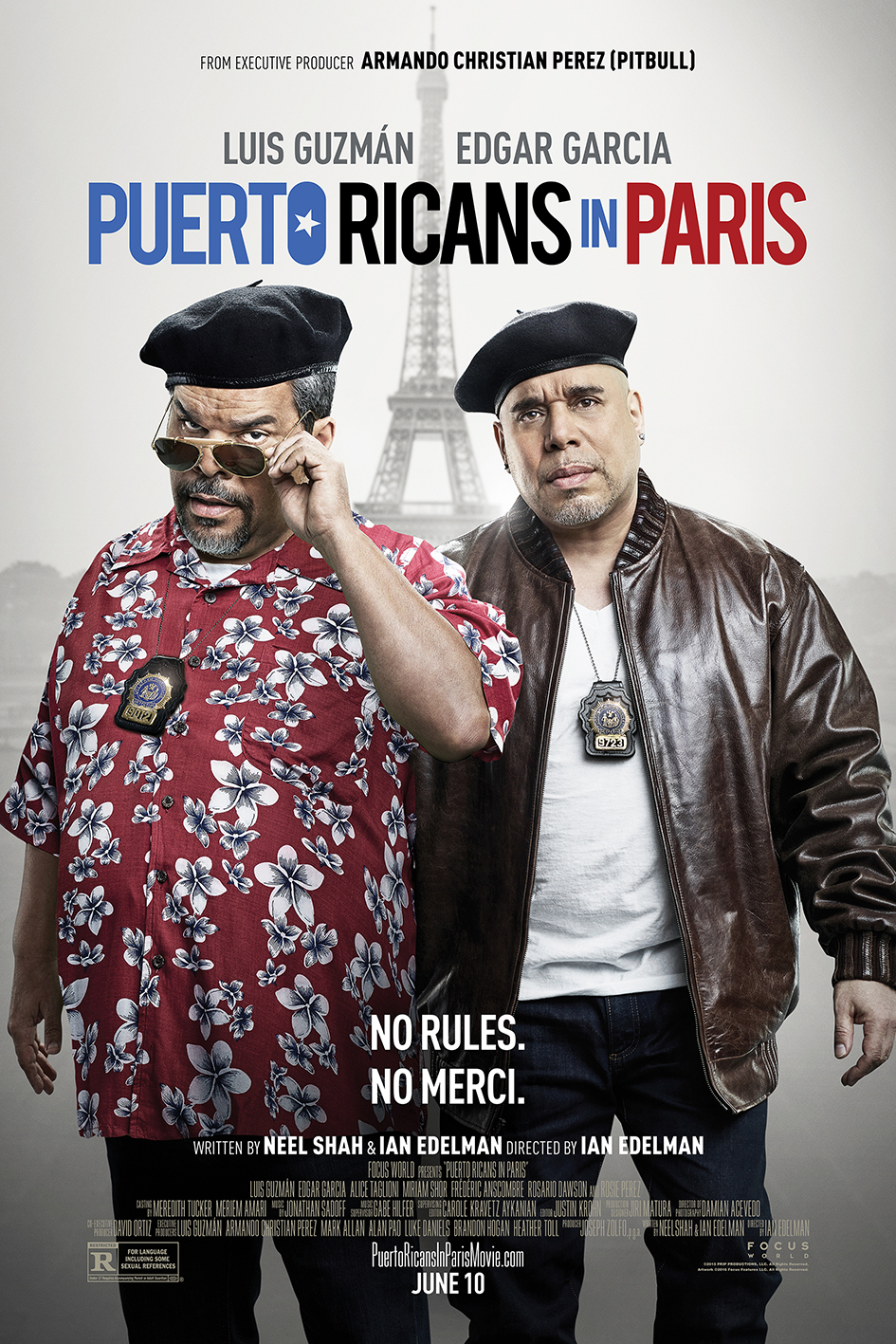 Puerto Rican in Paris [2016 USA Movie] Comedy