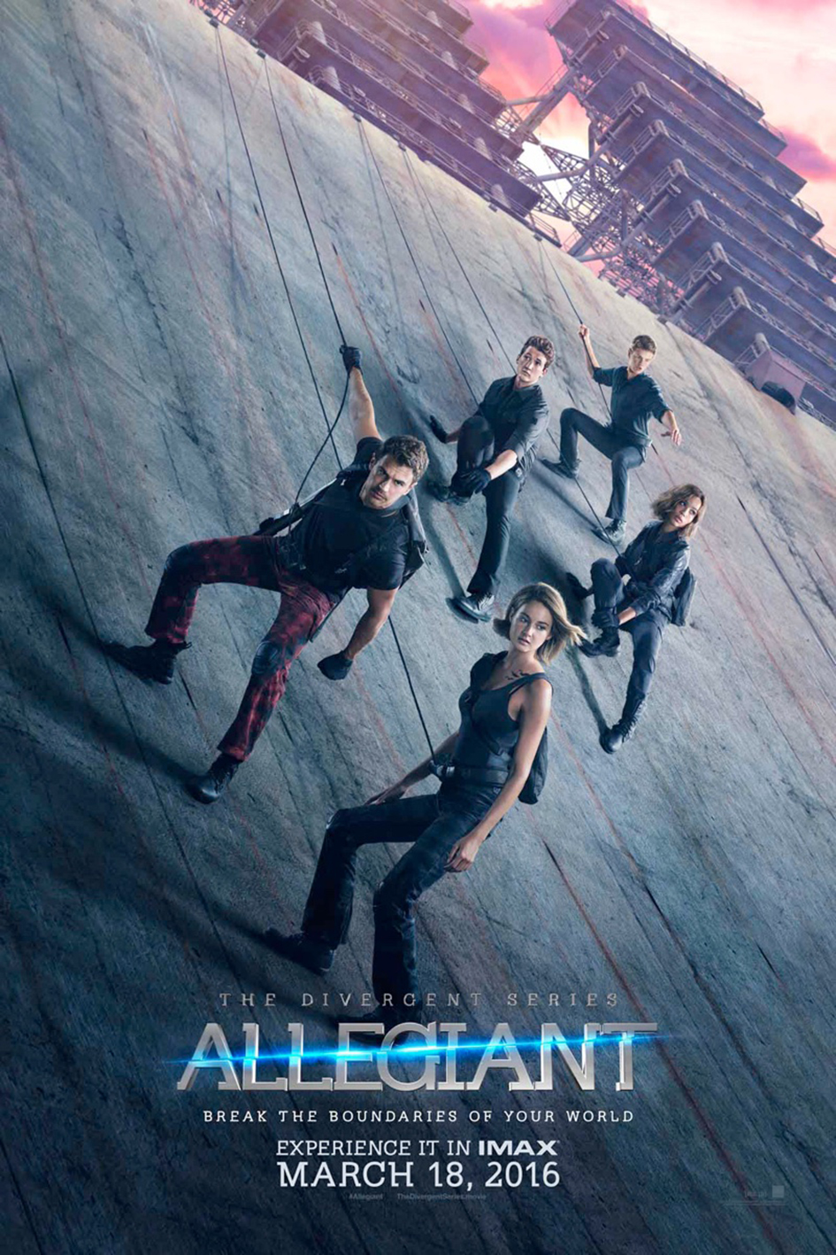 The Divergent Series 3: Allegiant Part 1 [2016 USA Movie] Action, Adventure, Mystery
