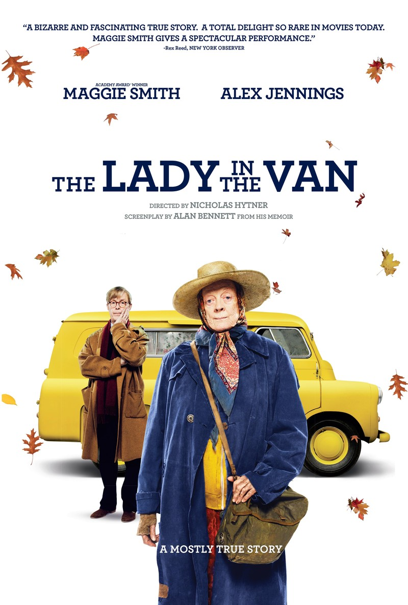 The Lady in the Van [2015 UK Movie] Comedy, Drama, True Story