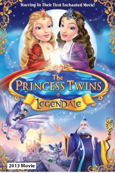 The Princess Twins of Legendale [2013 USA Movie] Animation, Family