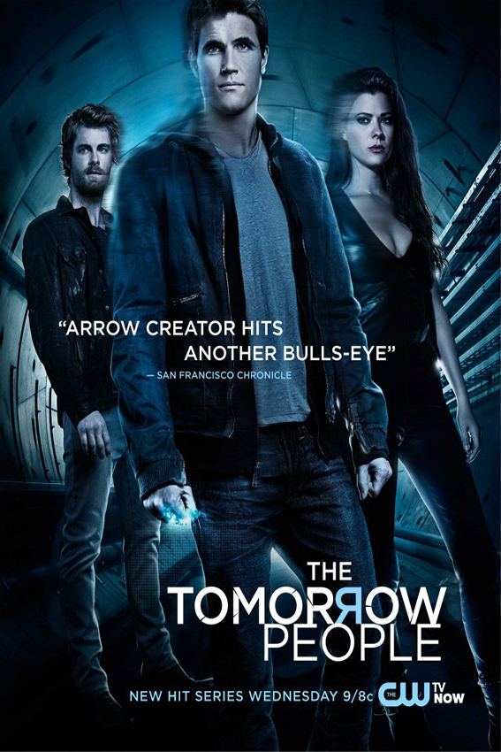 The Tomorrow People SEASON 1 Completed [2014 USA Series] Action, Sci Fi