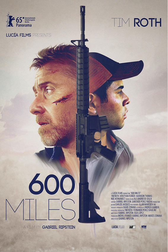 600 Miles [2016 USA & Mexico Movie] Drama, Thriller