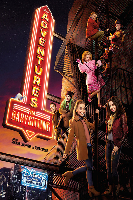 Adventures in Babysitting [2016 USA Movie]Comedy