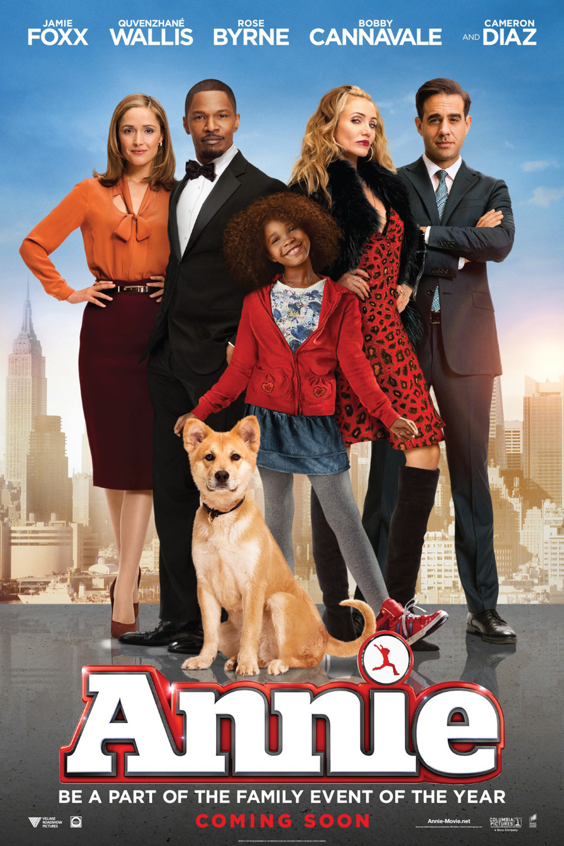 Annie [2014 USA Movie] Comedy, Drama, Family
