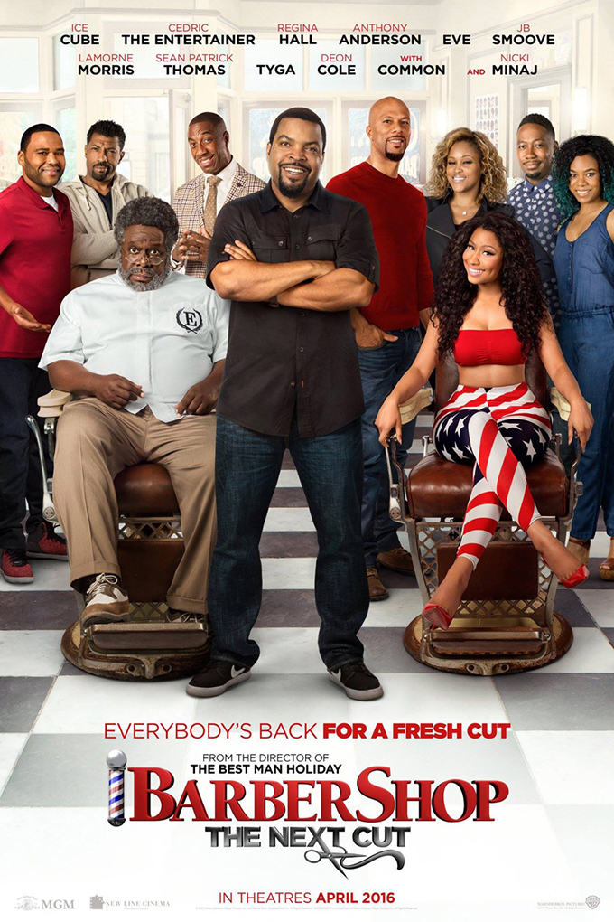 Barbershop 3 The Next Cut [2016 USA Movie] Comedy