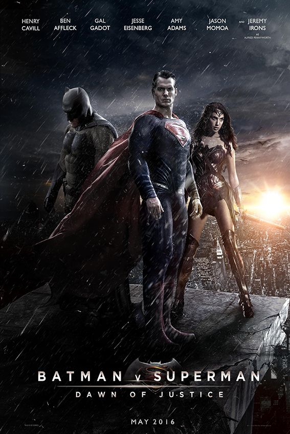 Batman v Superman Dawn of Justice [2016 USA Movie] Action, Adventure, Sci Fi