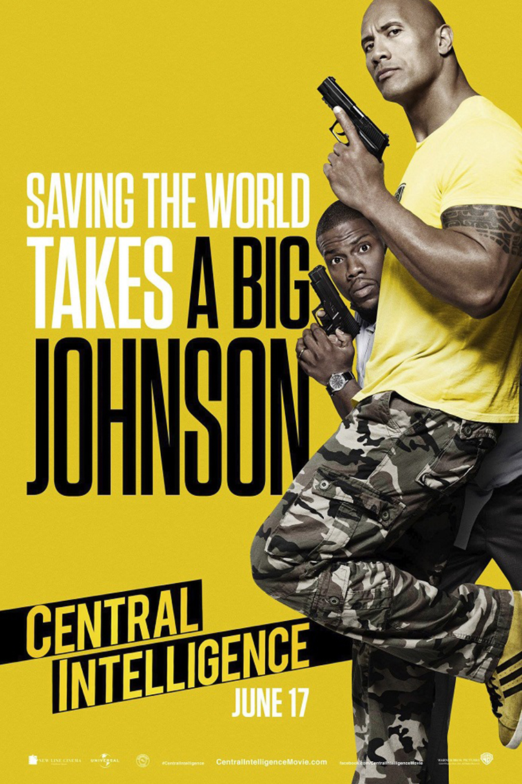 Central Intelligence [2016 USA Movie] Action, Comedy, Crime