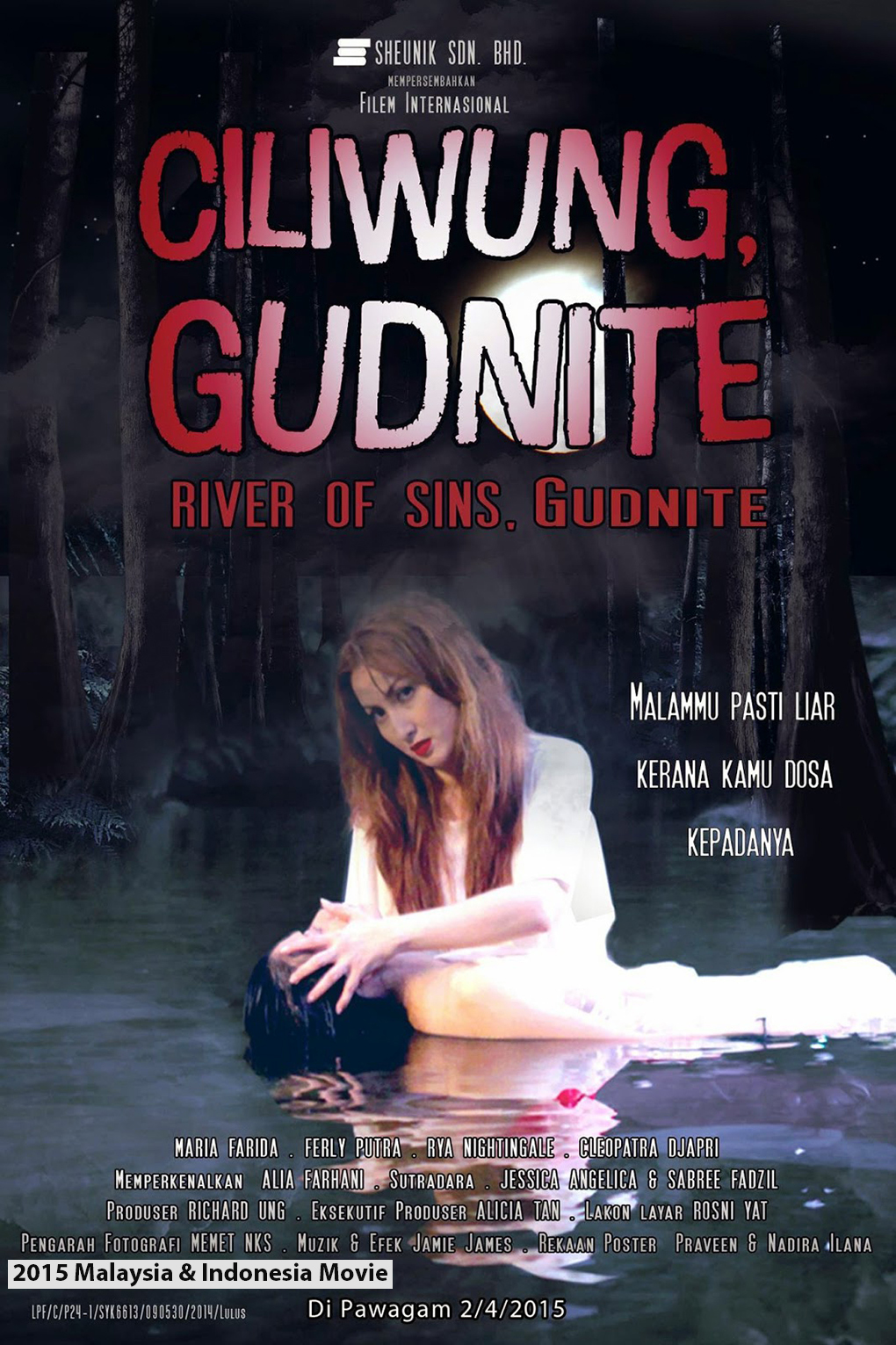 Ciliwung Gudnite [2016 Indonesia & Malaysia Movie] Horror