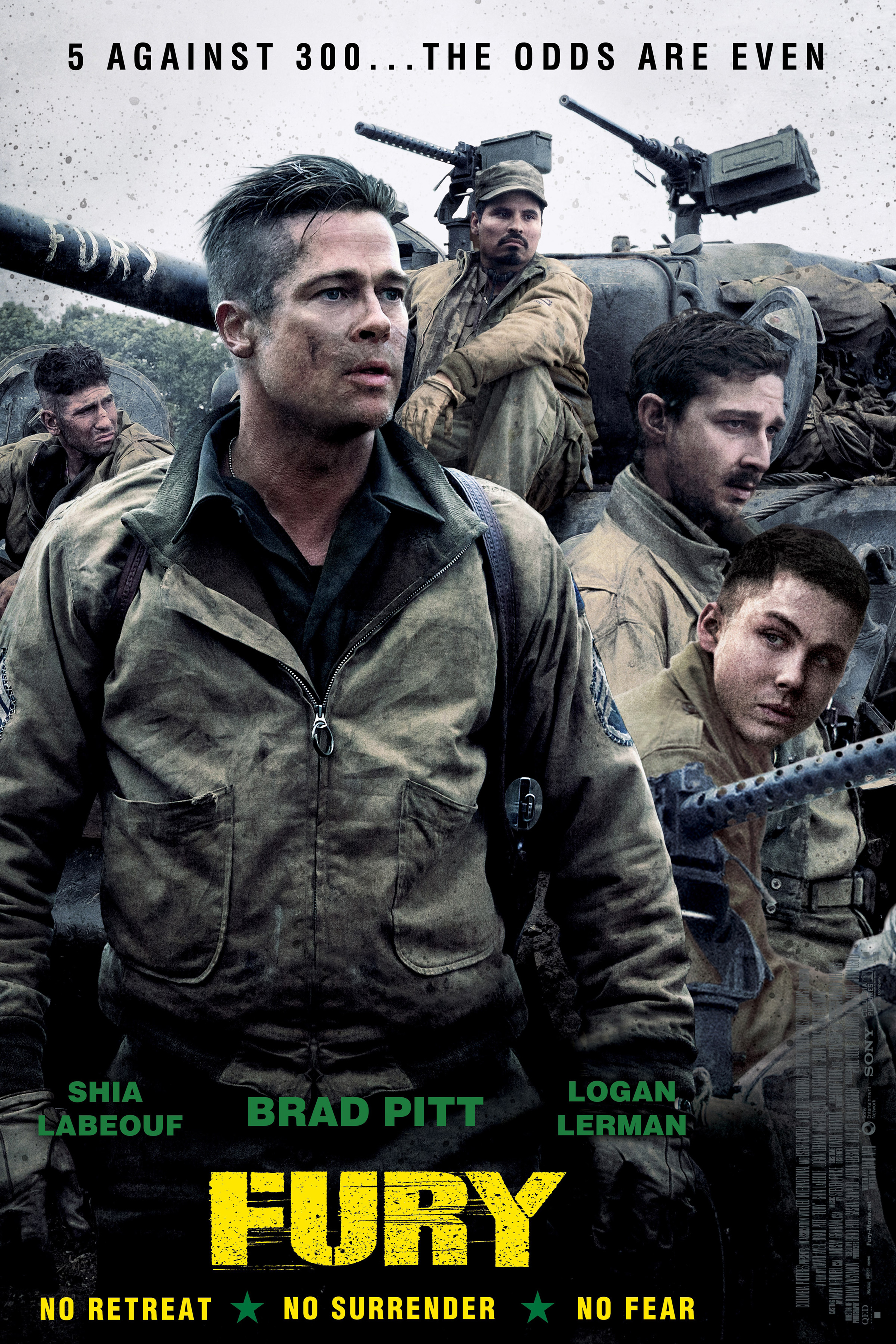 Fury [2014 USA Movie] Action, Drama, War