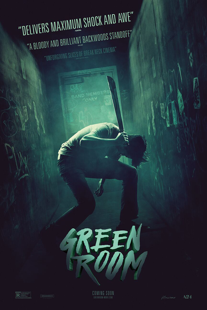 Green Room [2015 USA Movie] Crime, Horror, Musical