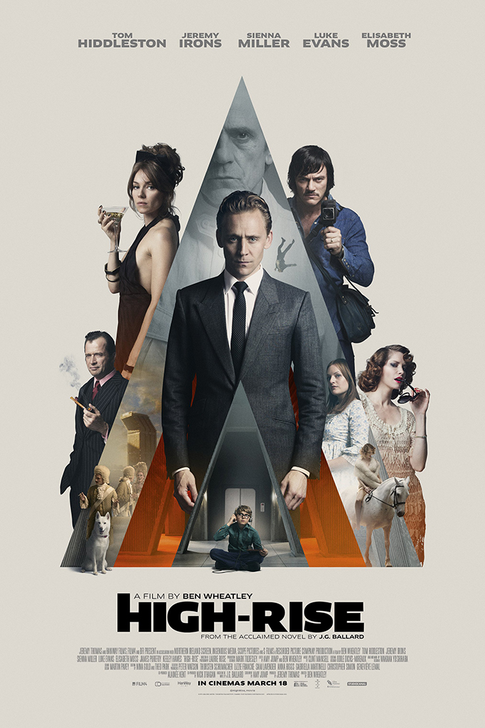 High Rise  [2016 UK & Belgium Movie] Drama