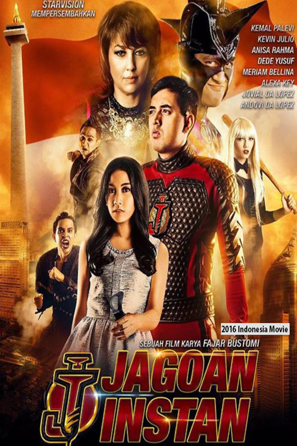 Jagoan Instan [2016 Indonesia Movie] Drama, Comedy, Action