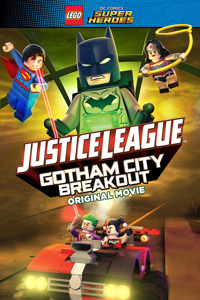 Lego DC Comics Superheroes: Justice League Gotham City Breakout [2016 USA Cartoon Movie] Animation, Family