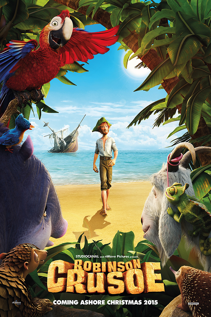 Robinson Crusoe aka The Wild life [2016 Belgium & France Movie] Animation, Family, English Audio