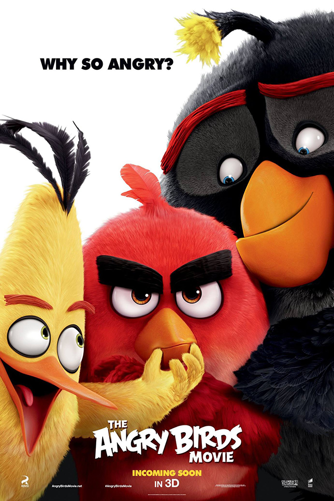 The Angry Birds Movie [2016 USA Cartoon Movie] Animation, Family