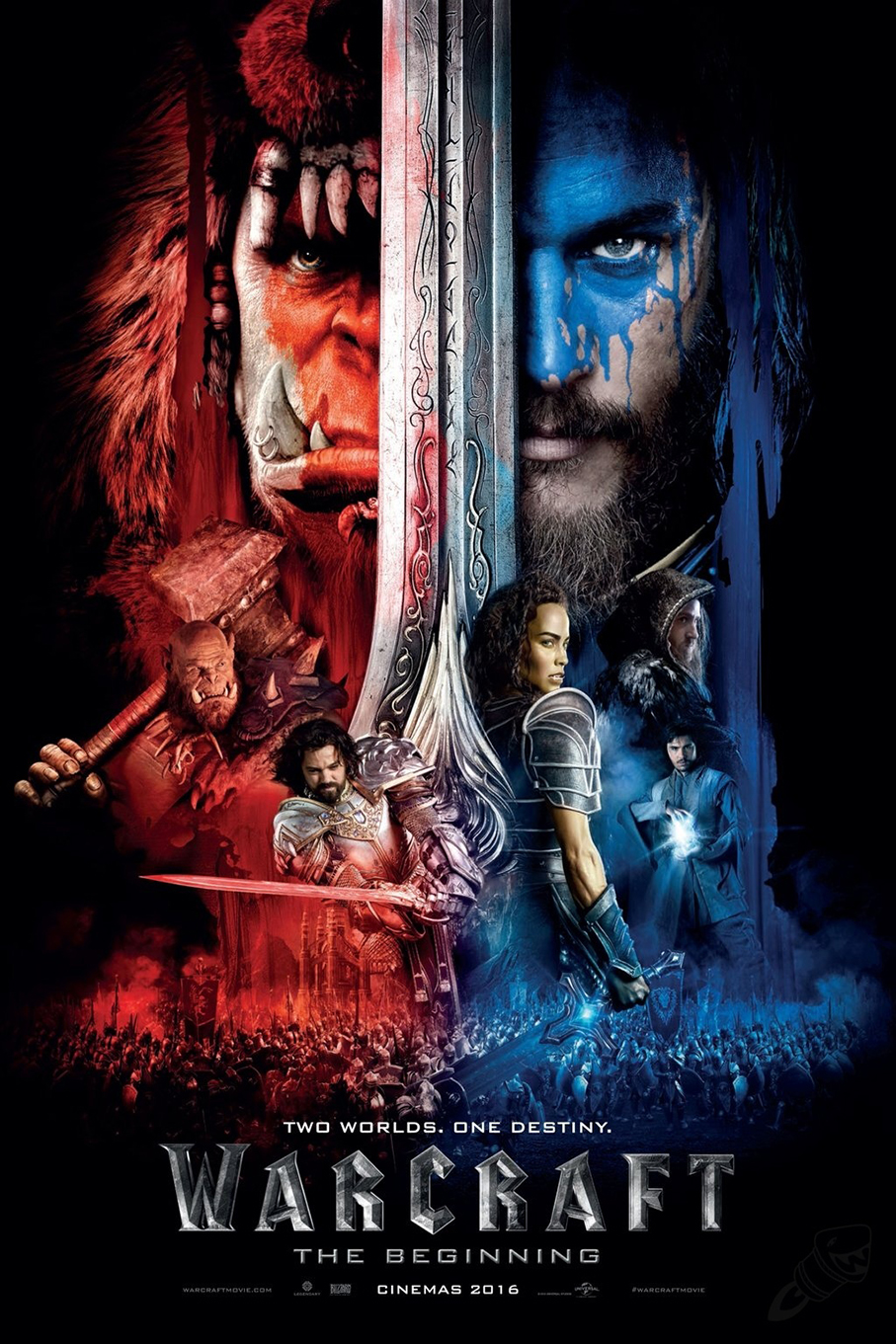 Warcraft [2016 USA, Canada & China Movie] Action, Adventure, Fantasy
