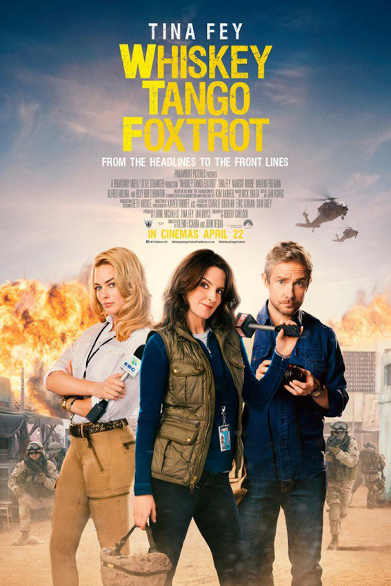 Whiskey Tango Foxtrot [2016 USA Movie] Comedy, Drama, True Story