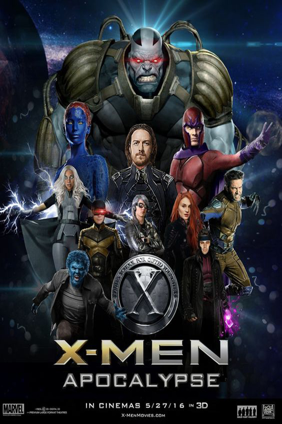 XMen Apocalypse [2016 USA Movie] Action, Sci Fi