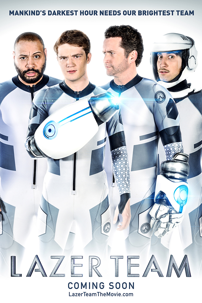 Lazer Team [2016 USA Movie] Action, Comedy, Sci Fi