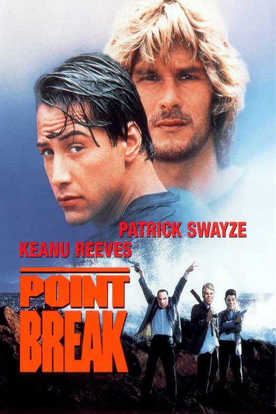 Point Break [1991 USA Movie] Action, Crime, Thriller
