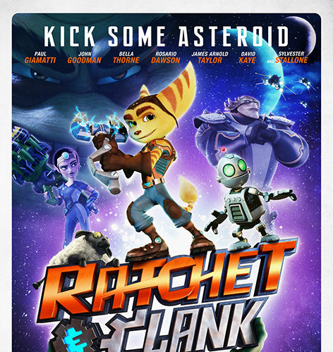 Rachet & Clank [2016 HK, Canada & USA Movie] Animation, Family