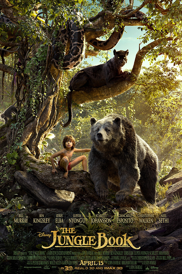 The Jungle Book [2016 USA Movie] Action, Adventure, Drama