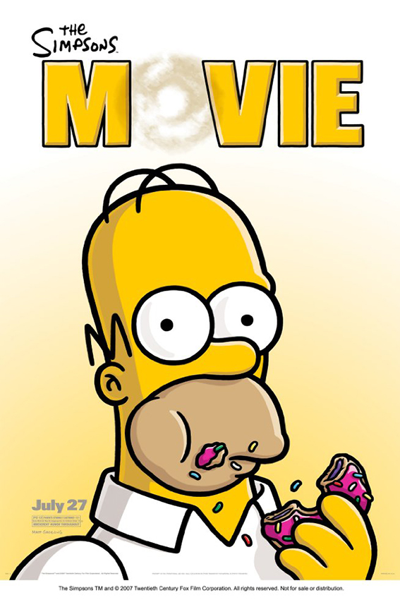 The Simpsons Movie [2007 USA Cartoon Movie] Animation