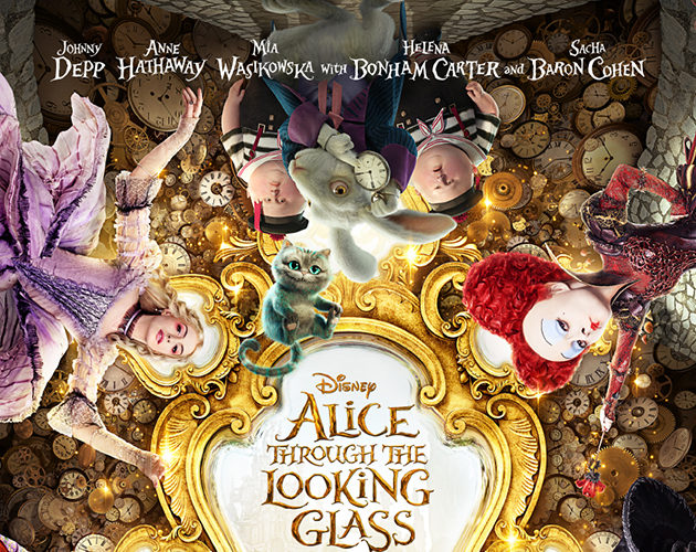 Alice Through the Looking Glass [2016 USA & UK Movie] Adventure, Family, Fantasy