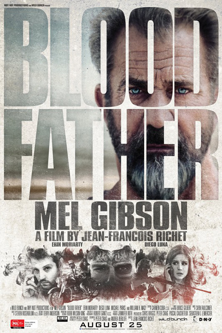 Blood Father [2016 France Movie]  Action, Thriller