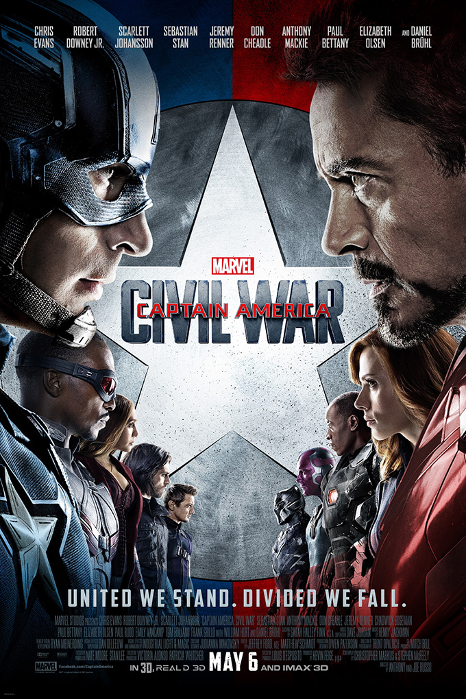 Captain America: Civil War [2016 USA Movie] Action, Adventure, Sci Fi