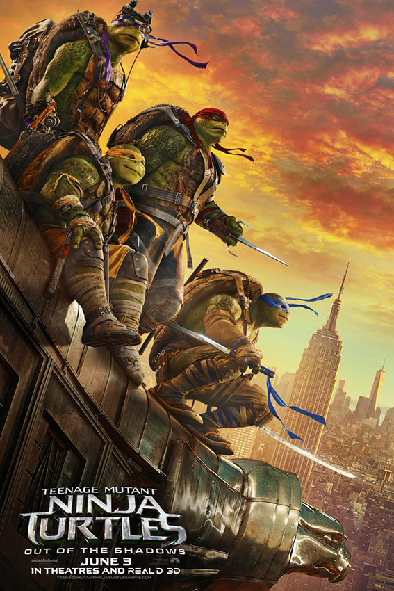 Teenage Mutant Ninja Turtles Out of the Shadows [2016 USA, China, Canada & HK Movie] Action, Adventure, Comedy