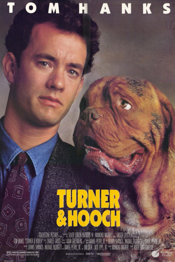 Turner & Hooch [1989 USA Movie] Comedy, Crime, Drama