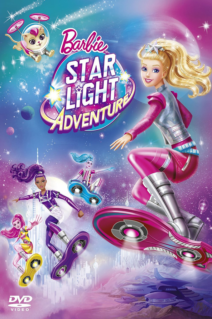 Barbie: Star Light Adventure [2016 USA Cartoon Movie] Cartoon, Family