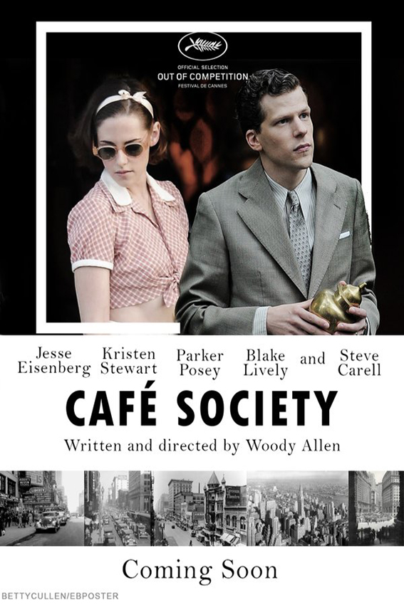 Cafe Society [2016 USA Movie] Comedy, Drama, Romance