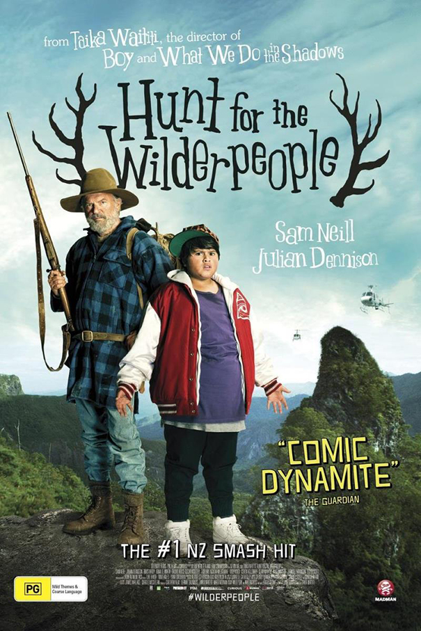 Hunt for the Wilderpeople [2016 New Zealand Movie] Comedy, Adventure, Drama