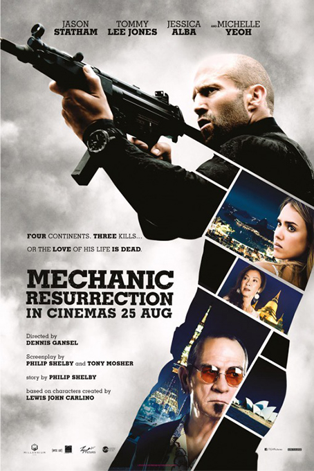 Mechanic: Resurrection [2016 USA & France Movie] Action, Crime, Thriller