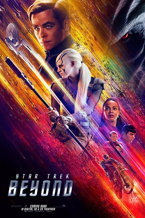 Star Trek Beyond [2016 USA Movie] Action, Adventure, Sci Fi