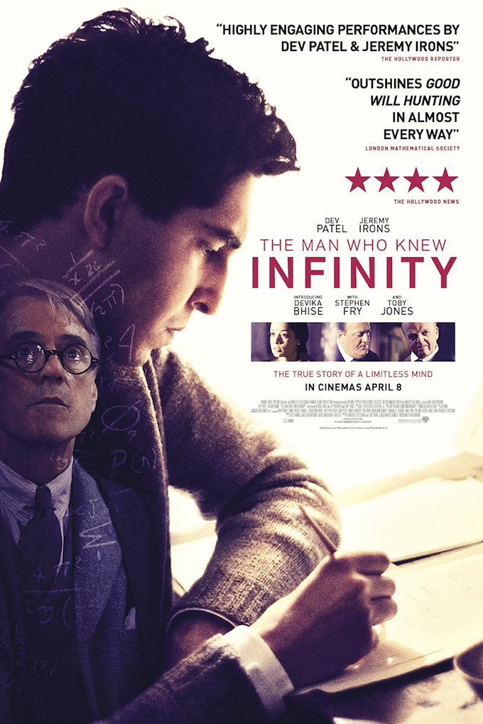 The Man Who Knew Infinity [2015 UK Movie] Drama, True Story, Biography