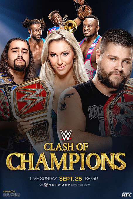 WWE Clash of Champions 2016 [2016 USA Show]